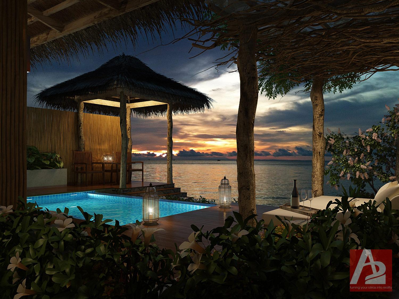 Bali Beach Villa