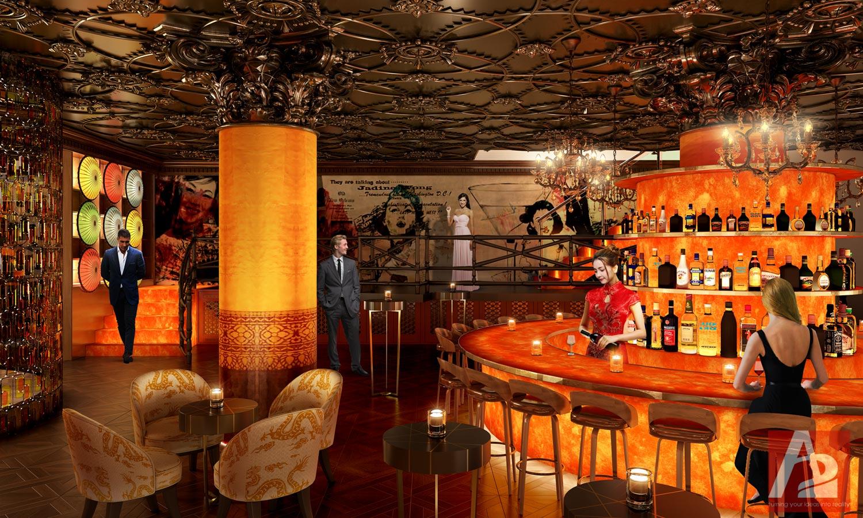 Dual Branded Lounge San Francisco